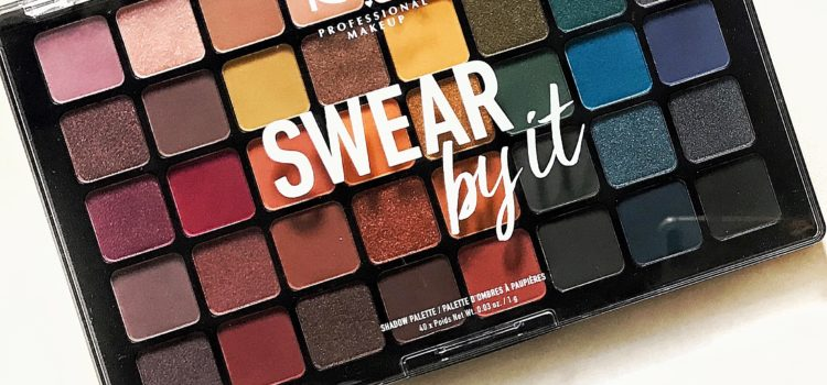 "Swatches ""Swear by it""- Noua paleta din colectia de toamna NYX"