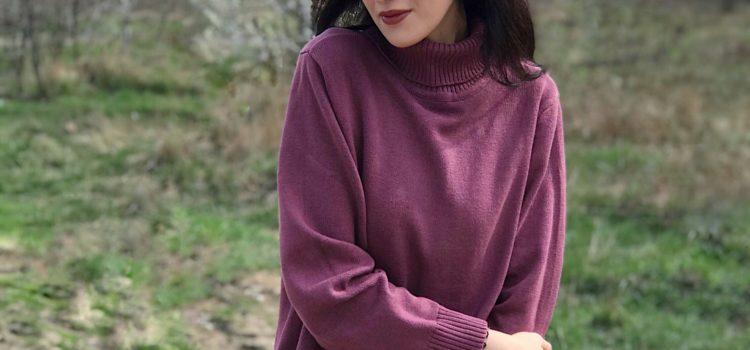 Geaca si pulover de la Bonprix pentru o zi rece de primavara