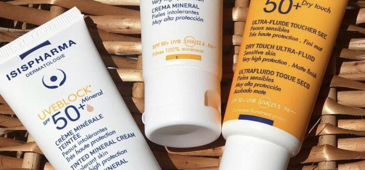 Trei produse preferate din gama UVEBLOCK -Isispharma
