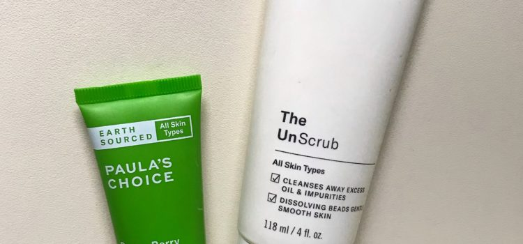 Gelul The Unscrub & serul Earth Sourced Power Berry-Paula's Choice