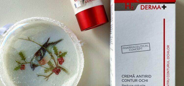 Gama Gerovital H3 Derma+ – crema antirid emolienta SPF 30 si crema antirid contur de ochi